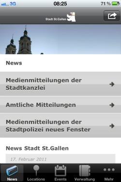 St.Gallen App